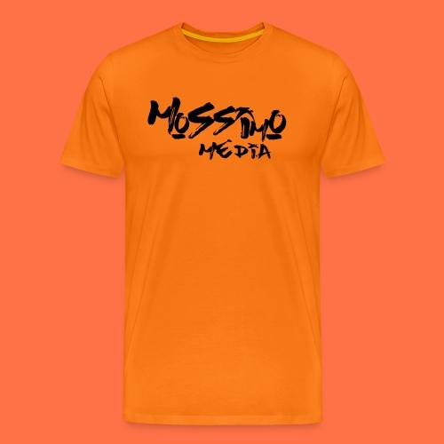 mossimo media text png - Men's Premium T-Shirt
