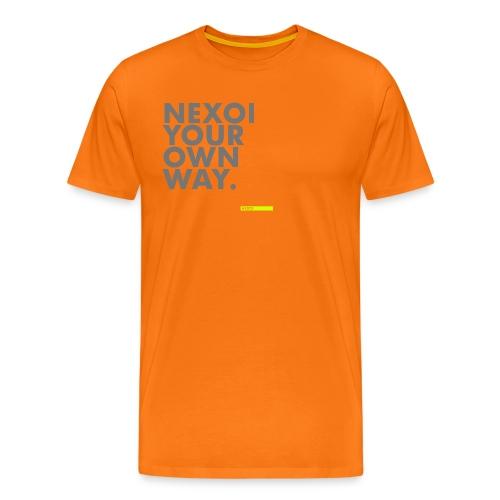 Backpack Newman collection - Men's Premium T-Shirt
