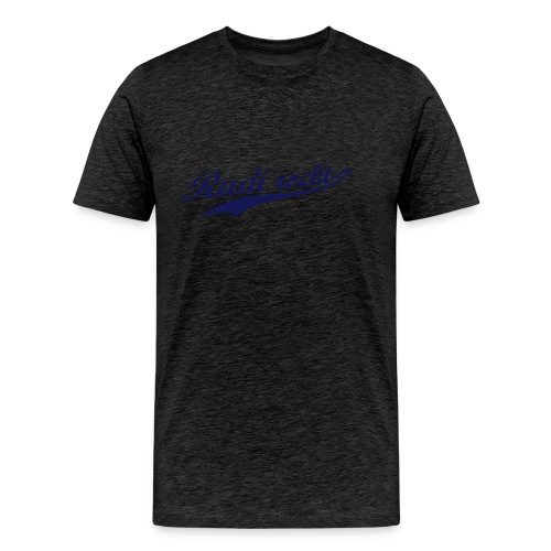 Rudi rockt Logo - Männer Premium T-Shirt