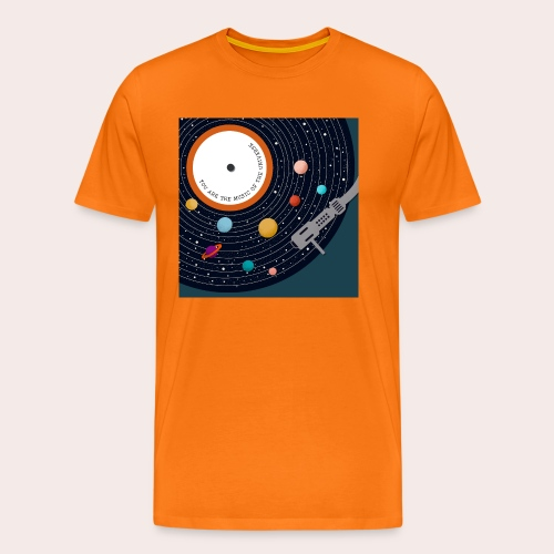 You Are The Music Of The Universe - Männer Premium T-Shirt