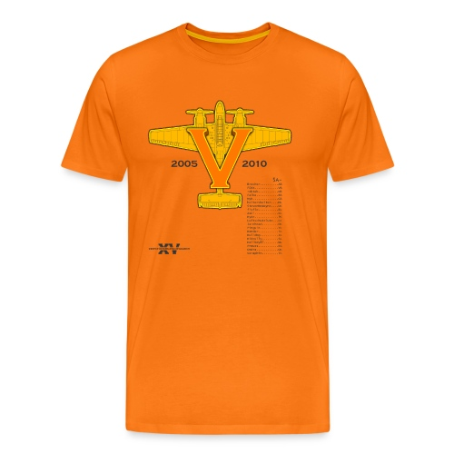 2010 5 jahre zg15 orange diffusion - Männer Premium T-Shirt