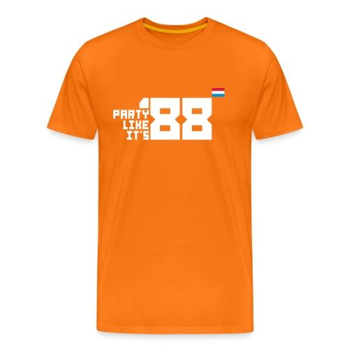 Party like it s 88 Dutch - Mannen Premium T-shirt