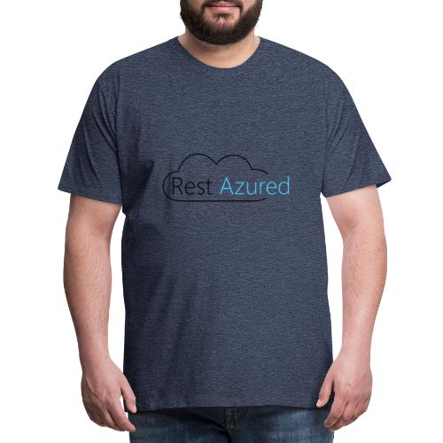 Rest Azured # 1 - Men's Premium T-Shirt