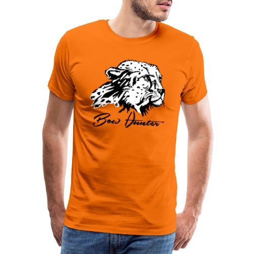 Bow Hunter Gepard 2 färbig - Männer Premium T-Shirt