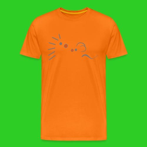 Igel und Maus abstrakt - Männer Premium T-Shirt