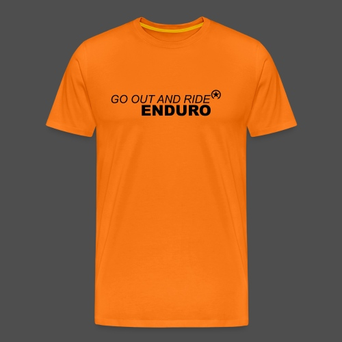 wyjdź i jedź enduro bk - Koszulka męska Premium