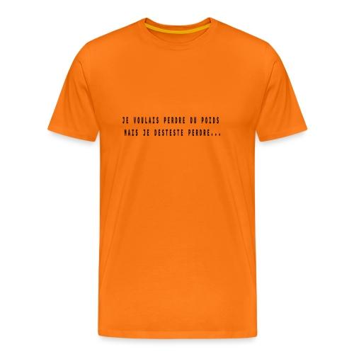 citation drole - T-shirt Premium Homme