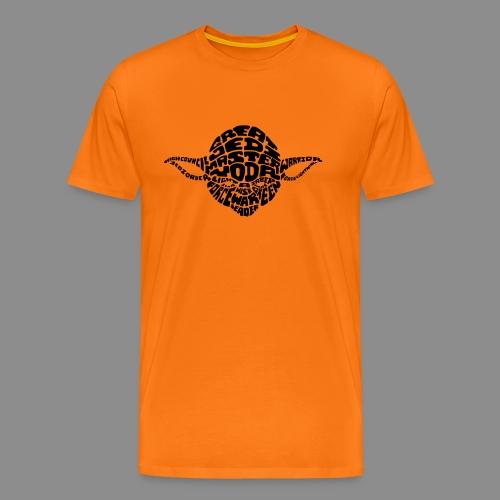 Yoda - Camiseta premium hombre