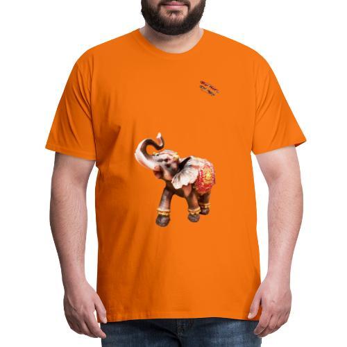 Elefant Junior Randy Design - Männer Premium T-Shirt