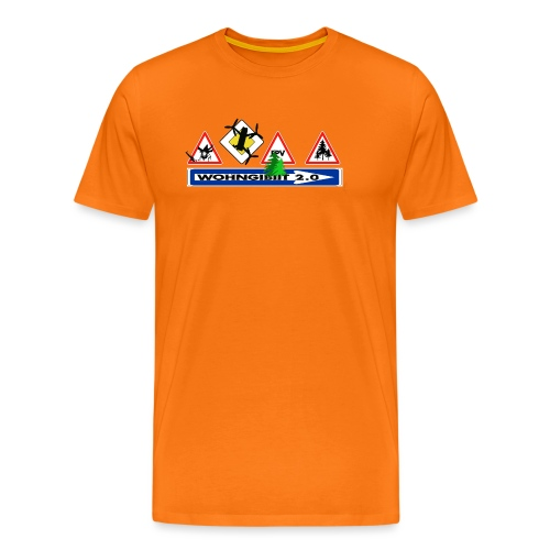 wohngibiit Hotzenplotz1 - Männer Premium T-Shirt