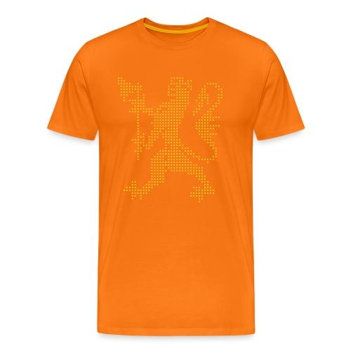 Den norske løve - Premium T-skjorte for menn