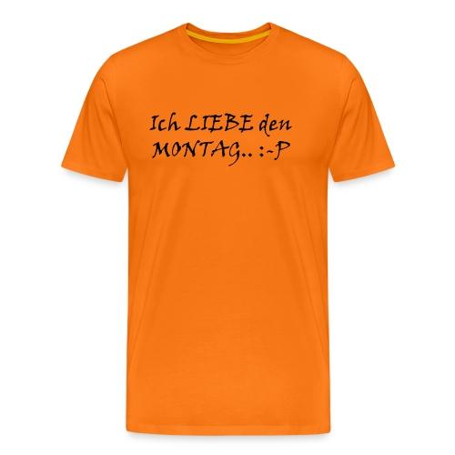Montag - Männer Premium T-Shirt