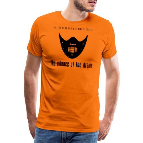 """Malt meets Movie""-Part 7: SILENCE OF THE DRAMS - Männer Premium T-Shirt"