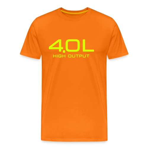 4.0 Litre High Output - Autonaut.com - Men's Premium T-Shirt