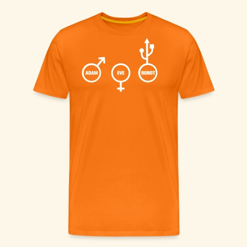 ROBOT NERD - Men's Premium T-Shirt