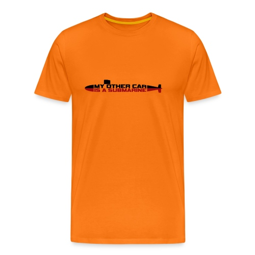 My other car is a Submarine! - Men's Premium T-Shirt