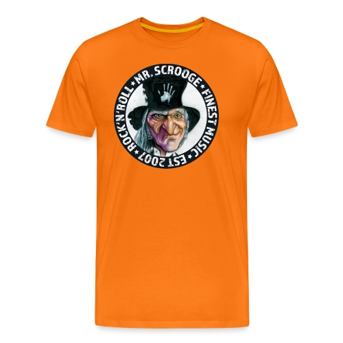 Logo Mr. Scrooge - Männer Premium T-Shirt