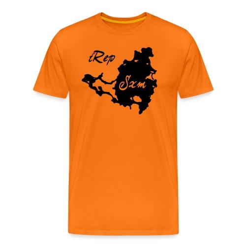 iRep Sxm Front vector - Mannen Premium T-shirt