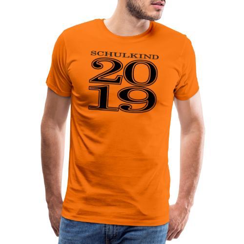Schulkind 2019 - Männer Premium T-Shirt