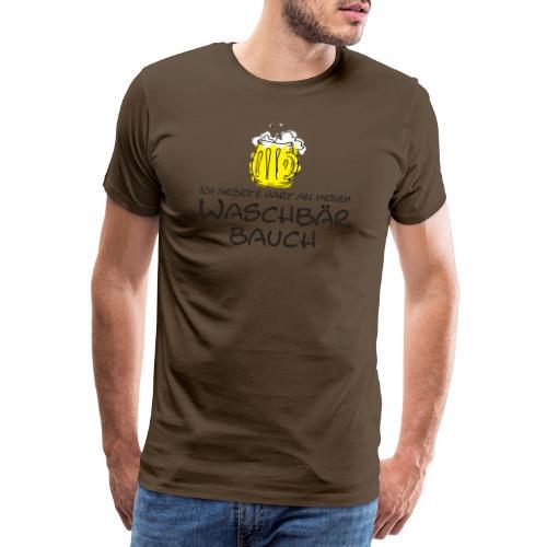 Waschbaerbauch - Männer Premium T-Shirt