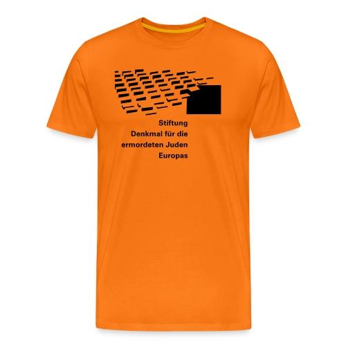 logo stiftung 1f - Männer Premium T-Shirt