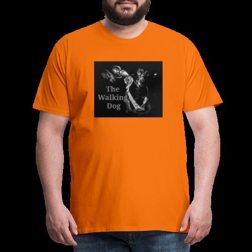 Pies spacerowy - Koszulka męska Premium