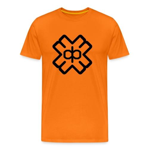 d3ep logo black png - Men's Premium T-Shirt