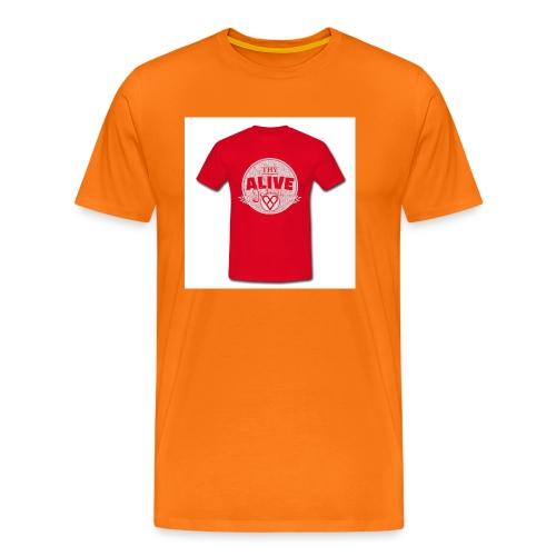 Herre-T-shirt - Herre premium T-shirt