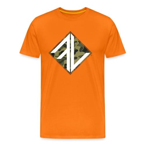 Logo Square FV Camo - Mannen Premium T-shirt