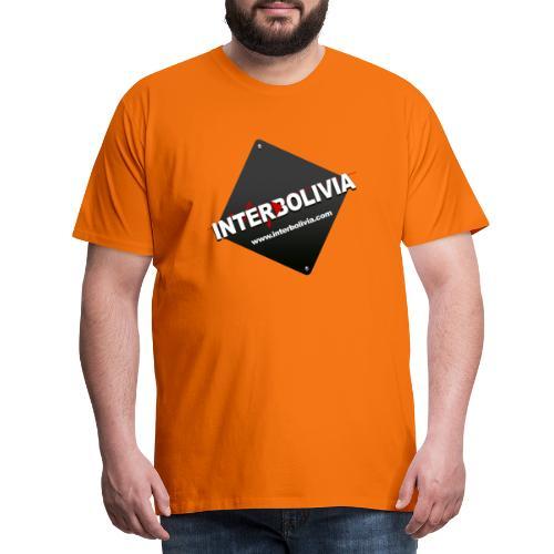 LOGO INTERBOLIVIA - Camiseta premium hombre