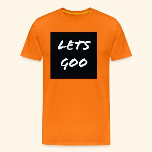lets goo - Premium-T-shirt herr