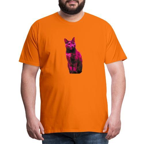 Gatto - Maglietta Premium da uomo