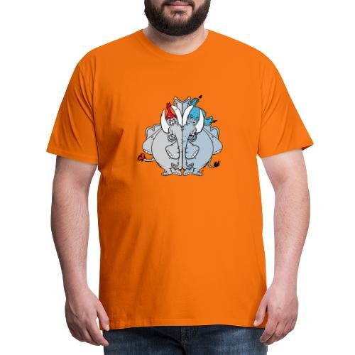 Bästa vänner - Premium-T-shirt herr
