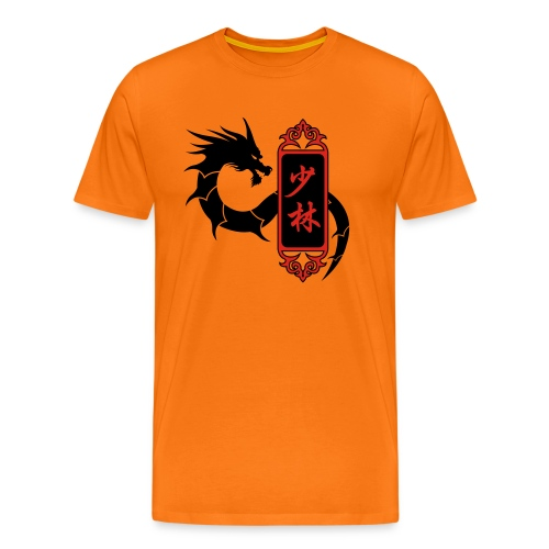Shaolin Dragon - T-shirt Premium Homme