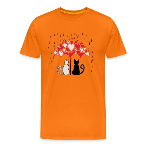 AD Lovely cats II - Men's Premium T-Shirt