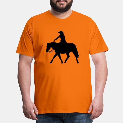 Ranch Riding extendet Trot - Männer Premium T-Shirt