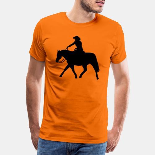 Ranch Riding extendet Trot - Männer Premium T-Shirt