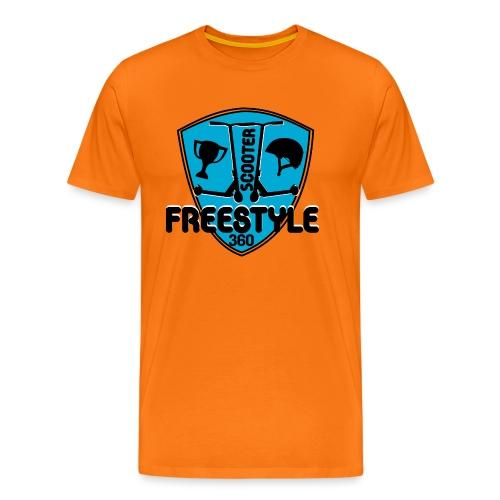 blason scooter freestyle 360 - T-shirt Premium Homme