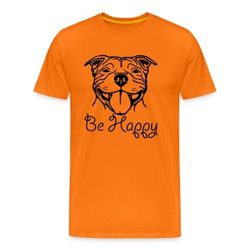 stafford © - www.dog-power.nl - Mannen Premium T-shirt
