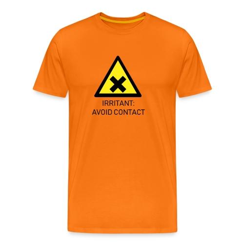 Irritant: Avoid Contact - Men's Premium T-Shirt