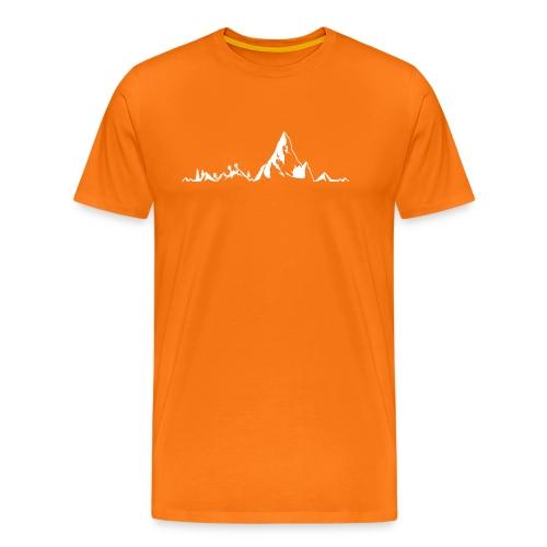 Bergkette Klettershirt - Männer Premium T-Shirt