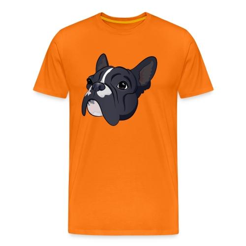Franse bulldog - Mannen Premium T-shirt