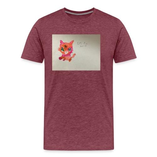 Little pet shop fox cat - Men's Premium T-Shirt