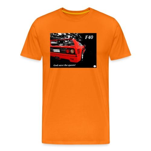 f40 - Maglietta Premium da uomo