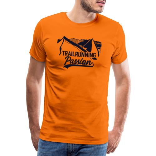 Trailrunning Passion Series - blanko - Männer Premium T-Shirt