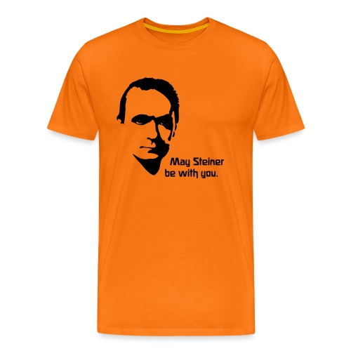 May Steiner be with you - Männer Premium T-Shirt
