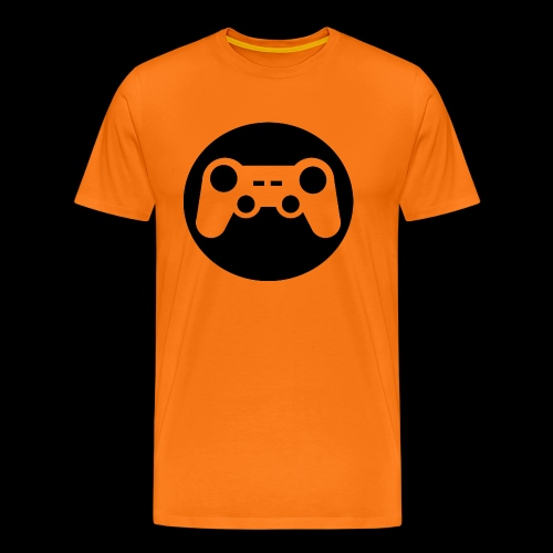 Zocker Prototype (Controller) Logo schwarz - Männer Premium T-Shirt