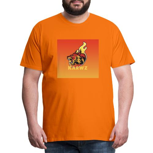 Karwz limited edition Tiger - Herre premium T-shirt