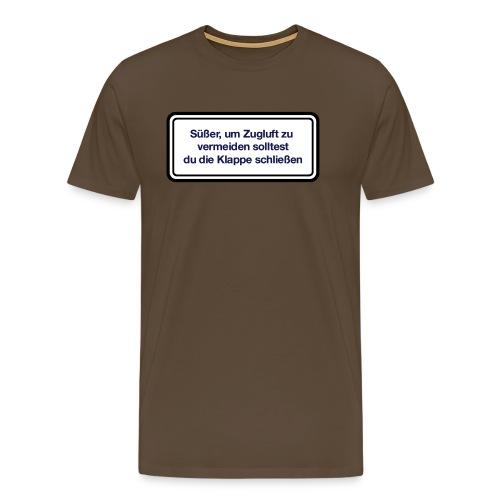 zugluft_er - Männer Premium T-Shirt