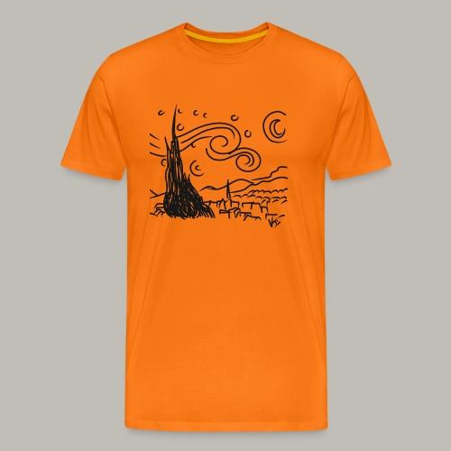 Little piece of van gogh - T-shirt Premium Homme